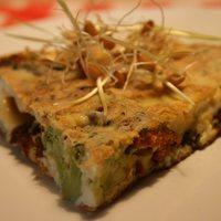 Zöldséges tortilla