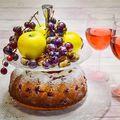 Szőlős kuglóf/Bundt cake with grapes #bundt #bundtcake #grapes #apple #chesnut #cake #cakestagram #bundtstagram #foodandwine #wine #rosé #cakephotography #ilovebaking #homemade #foodporn #foodlover #instafood #instagood #instahun #mutimitsütsz #mutimiteszel #mik