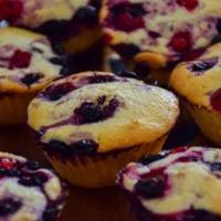 Erdei gyümölcsös muffin