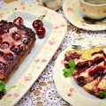 Meggyes-mákos süti/Poppy seed cherry cake