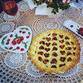 Szivecskés cseresznyés pite/Heart shaped cherry pie ❤️