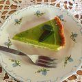 Matcha teás-citromos-mentás tart/Tart with matcha tea-lemon-mint filling #matcha #matchacake #greentea #lemon #mint #tart #foodporn #foodlover #foodstagram #instafood #instagood #pastry #pastrychef #homemade #mutimiteszel #mutimitsütsz #mik #mik_gasztro #instahun