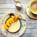 Őszibarackos panna cotta/Panna cotta with peach #pannacotta #peach #cream #heavycream #coffee #foodporn #foodlover #fooddesign #foodstagram #instafood #instagood #instahun #barack #tejszín #mutimiteszel #mutimitsütsz #mutimitiszol #mik #mik_gasztro #patakikerámia