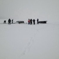 Két Hummer szakadt a Balatonba
