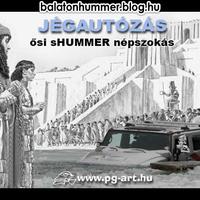 Jégautózás, ősi sHUMMER népszokás