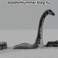 Balatoni Hummer, Loch Ness-i szörny