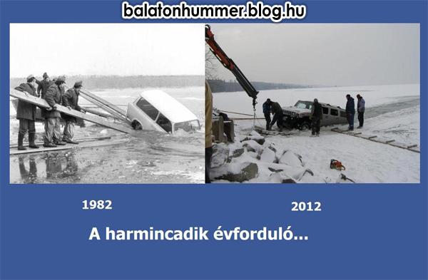 A harmincadik évforduló - Balaton, Trabant, Hummer
