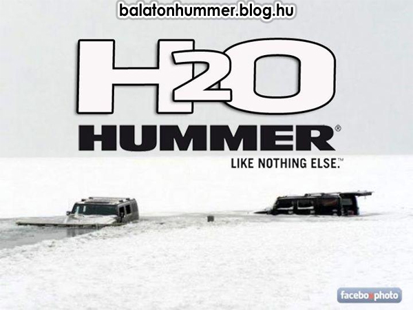 H2O Hummer - Like nothing else