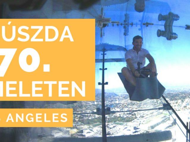 Üvegcsúszda a 70. emeleten
