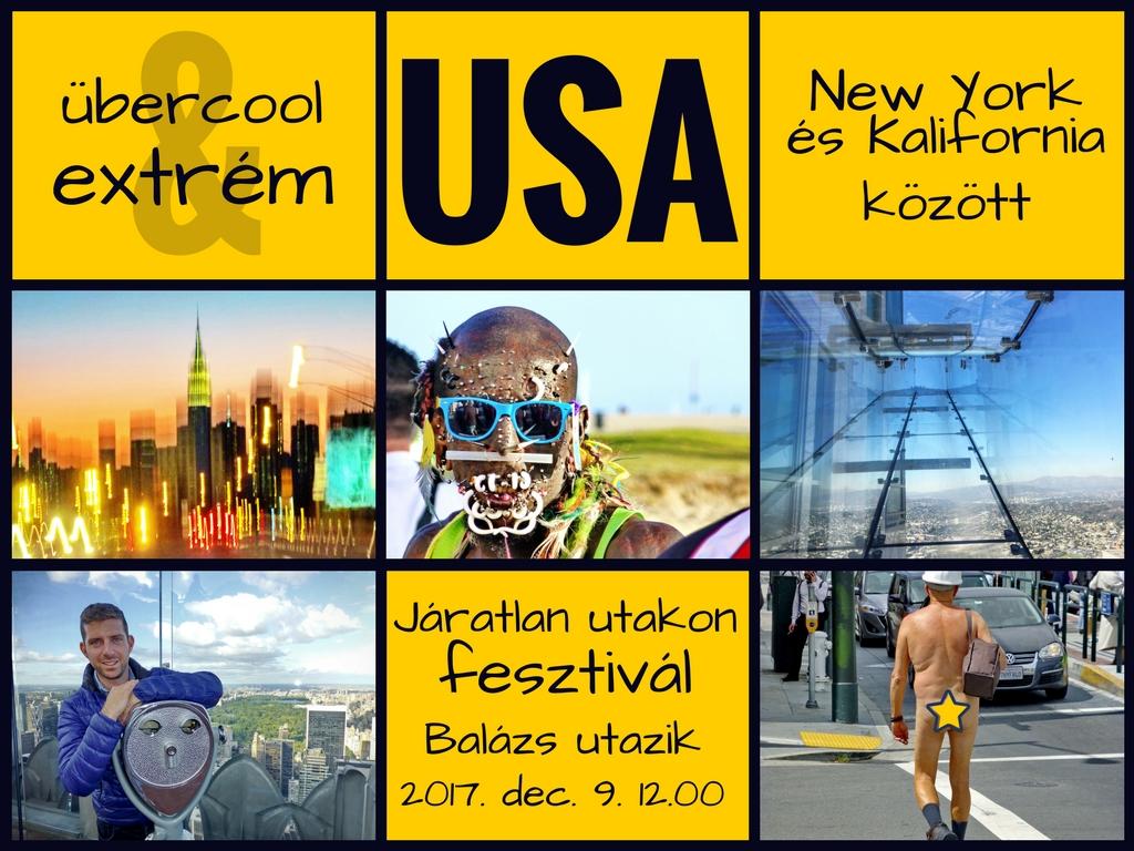 Járatlan utakon fesztivál - Übercool és Extrém USA