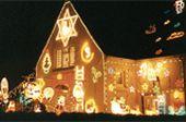 Karácsonyi kivilágítás