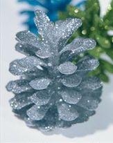 Karácsonyi fenyőtoboz dísz