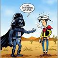Luke! I'm your father!