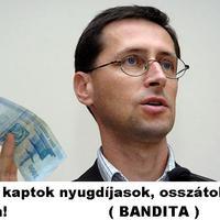 Üzenet a Fidesz kormánynak: Köszi a nyugdíj emelést, hogy fulladnátok meg tőle.