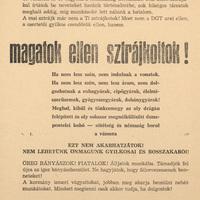Egy röplap margójára: a bányászok forradalma és szabadságharca 1956-1957-ben