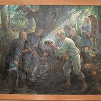 Történetek a kiállítási tárgyainkhoz: Gáspár Sándor festményei