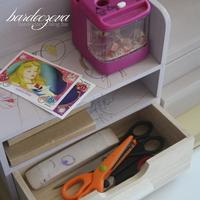 Alkotó sarok gyerekeknek a nappaliban