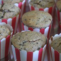 Mandulás muffin cukkinivel