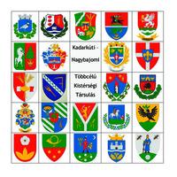 Kistérségi címer tábla