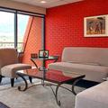 Piros színek és szobák