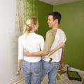 Zöld színek és szobák