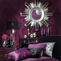 Lila színek és szobák