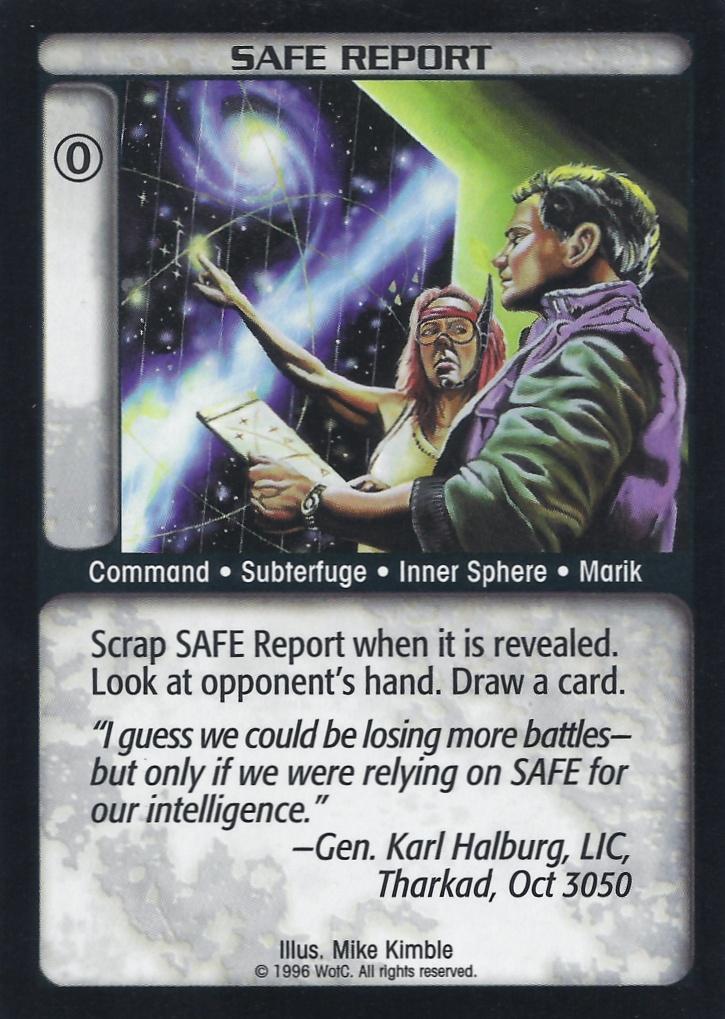 Safe Report