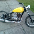 Donor frame for the DR650