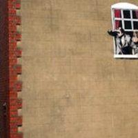 Megrongált graffiti