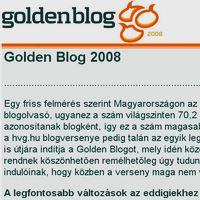 GoldenBlog 2008