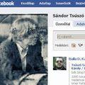 Tsúszó Sándor a Facebookon
