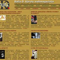 Webmagazin és szavazás