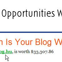 Eladnám a blogom!