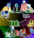 intranet: belső laptop hálózat