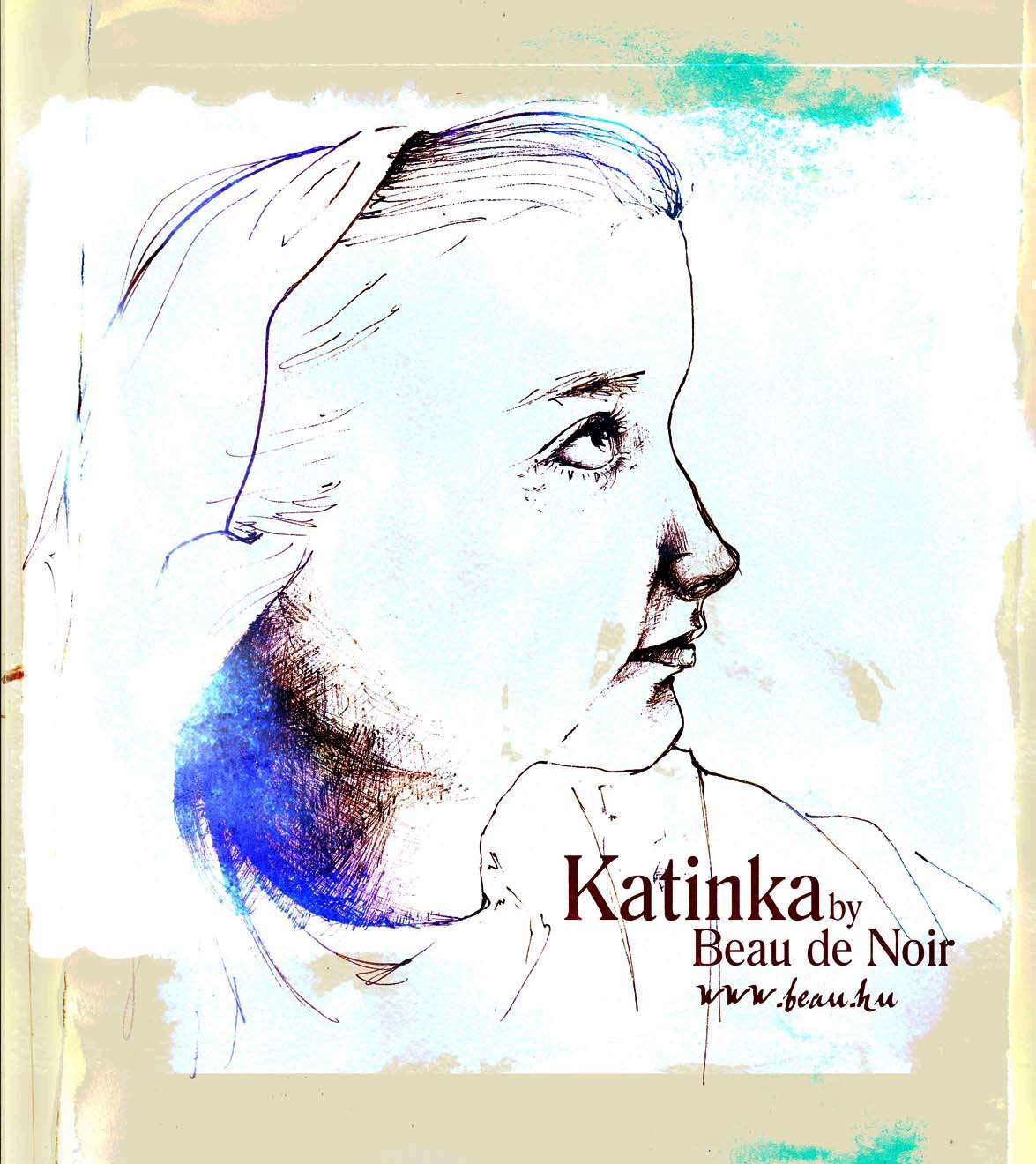 Katinka portré b by Beau de Noir 2011 11