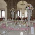 Egy királylányos esküvő gyönyörű dekorációja