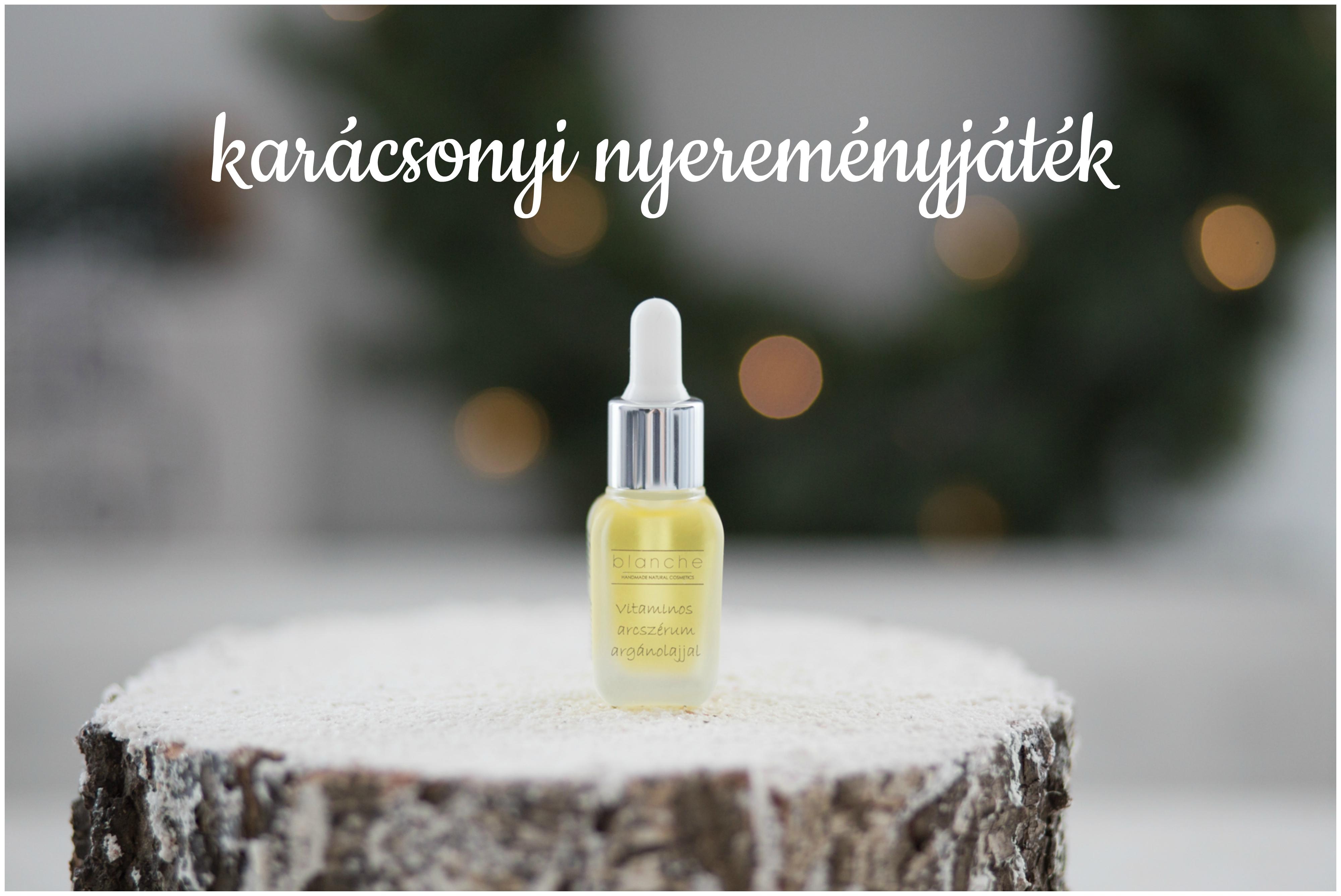 karacsonyi nyeremenyjatek I. - Blanche Vitaminos arcszerum
