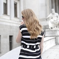 Vienna - Black & White Stripes