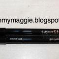 Avon SuperShock gel eyeliner / Black Shimmer , Bronze - teszt
