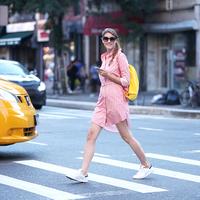 NEW YORK FASHION WEEK - School Girl