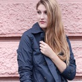 OUTFIT - Blue trench coat