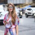 New York Fashion Week - Colorful Dress