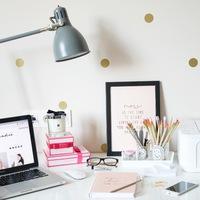 Home office - Itt dolgozom én :)