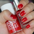 Barry M - Blood Orange & Models Own - Red Sea