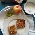 Almás sült zabkása