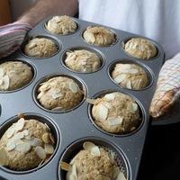 Mandulás muffin