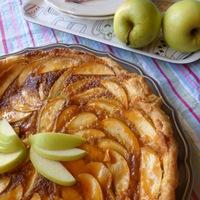 Almás galette