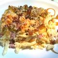 Sonkás-sajtos Spätzle