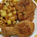 Csirke fűszeres bundában
