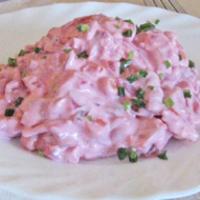 Húsos, majonézes téli saláta